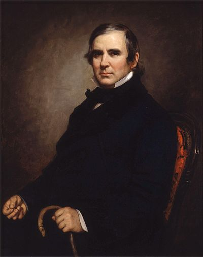 William B. Ogden was the first mayor of Chicago. William B Ogden by GPA Healy, 1855.jpg
