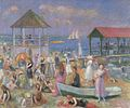 William Glackens - Beach Scene, New London (1918).jpg