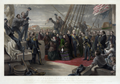 William Simpson - George Zobel - England and America. The visit of her majesty Queen Victoria to the Arctic ship Resolute - December 16th, 1856.png