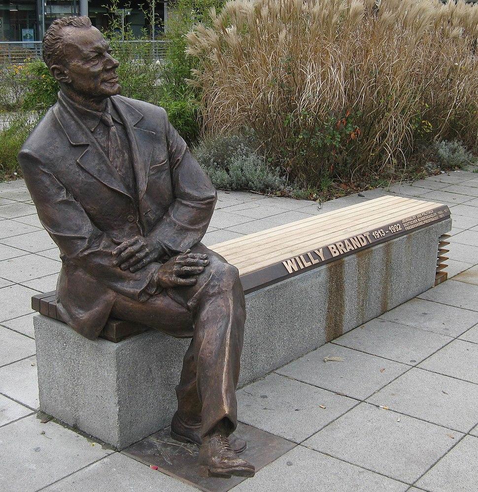 Willy Brandt Memorial-Nuremberg