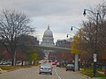 Wisconsin State Capitol Seen From West Washington Ave - panoramio.jpg
