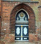 Wismar, St. Nikolai, Portalansicht.JPG