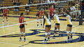 Women's volleyball, Fresno State at Cal 2010-09-11 10.JPG