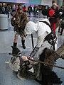 WonderCon 2012 - Assassin vs barbarian (7019457545).jpg