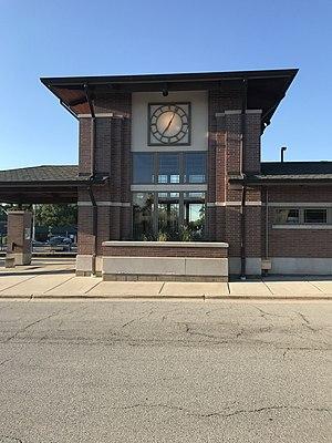 Wood Dale, Illinois - Wood Dale Metra Station