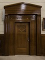 Wood door in courtroom at the Isaac C. Parker Federal Building & U.S. Courthouse, Fort Smith, Arkansas LCCN2016645830.tif