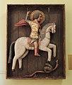 Wooden S.George (15th c., Rostov Kremlin) by shakko 01.jpg