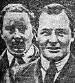 Woolf Barnato (G) et Glen Kidston (D), vainqueurs des 24 Heures du Mans 1930.jpg