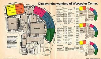 Worcester Center Galleria - Mall Guide, 1971