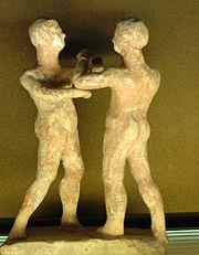 Wrestlers Apulia Louvre Cp5433