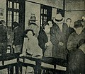 Wu Tiecheng gets in line with commoners to vote.jpg