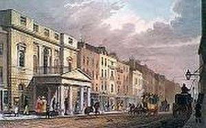 "James Wyatt - Wyatt's ""Pantheon"" in Oxford Street, London"