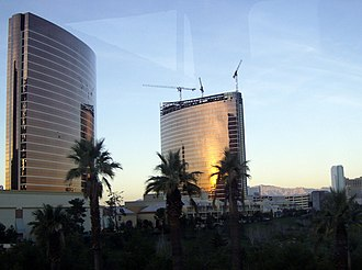 Encore Las Vegas - Image: Wynn and Encore from Las vegas Monorail