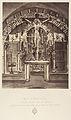 XIIe Station. Jésus meurt sur la croix. Autel élevé sur le lieu même ou le Christ a été crucifié MET DP345545.jpg