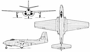 XP-83 drawing