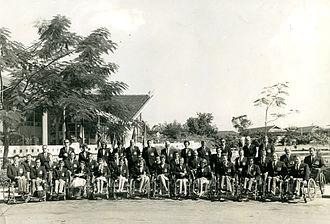 Australia at the 1968 Summer Paralympics - 1968 Australian Paralympic Team in Bangkok on the way to Tel Aviv