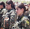 YPJ fighters stand in formation.jpg