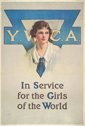 YWCA - A YWCA poster from 1919