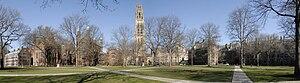Durfee Hall - Image: Yale Old Campus 2009