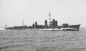 Shiratsuyu-class destroyer - Yamakaze
