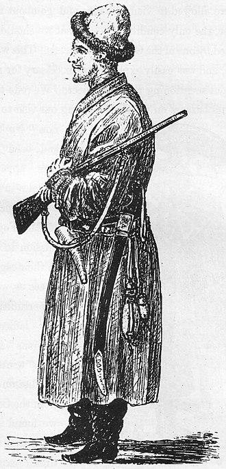 Yarkant County - Yarkand official, 1870s
