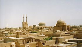 Yazd, Iran Old City June 2003 MvA.jpg