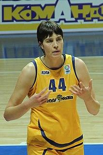 Elena Baranova Russian basketball player