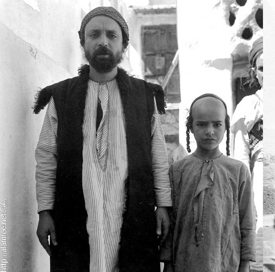 Yemenite father and son
