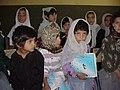 Young female students of Ashaqan Arefan School in Kabul.jpg