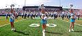 Yulman Stadium opening day (cheerleaders, band).jpg