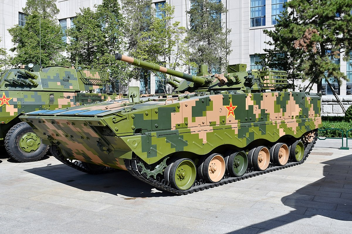 zbd 04 infantry fighting vehicle - HD 1200×800