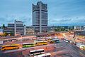 ZOB central bus station Lister Tor high-rise Hanover Germany.jpg