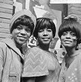 Zanggroep The Supremes in Hilton-hotel aan pers voorgesteld, v.l.n.r. Florence B, Bestanddeelnr 918-2473.jpg