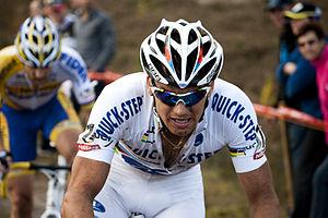 Zdeněk Štybar - Stybar at the 2011 Cyclo-cross Zonhoven