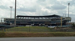 Shrine on Airline - Image: Zephyr Field Grandstand, Leftfield