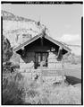 Zion National Park, East Entrance Checking Station, Springdale, Washington County, UT HABS UTAH,27-SPDA.V,7G-6.tif