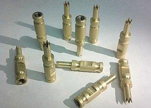 Zirconium nitride - Zirconium nitride coated cutters.