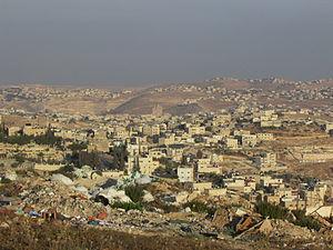 Al-Ubeidiya - Image: Zur Baher Al Ubeidya Wadi Al arais 3857