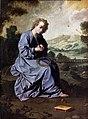 Zurbarán, L'enfant Jésus se blessant avec une couronne d'épines dans un paysage Bemberg.jpg