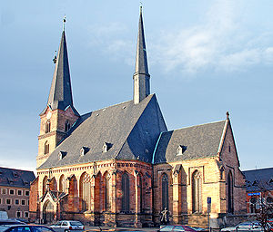Thomas Müntzer - St Katharine's Church in Zwickau, where Thomas Müntzer preached