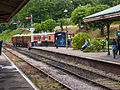"""Bluebell"" arriving at Horstead Keynes (9129376401).jpg"