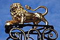 """Golden"" lion as ornament in front of the V^D shop Den Bosch - panoramio.jpg"