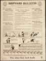 """Shipyard Bulletin. The Ship that Jack Built."", ca. 1917 - ca. 1919.tif"