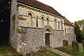 'Berfrestone' (DB) St Nicholas Church from southwest Barfrestone Kent England.jpg