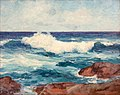 'Crashing Surf Near Point Loma, California' by Maurice Braun.jpg