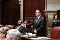 (03-29-19) NY State Senator Peter Harckham during Senate Session at the NY State Capitol, Albany NY.jpg