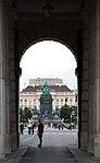 Äußeres Burgtor, Maria-Theresien-Denkmal, MuseumsQuartier, Stiftsbunker Wien 2015 a.jpg