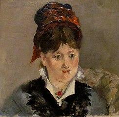 Portrait d'Alice Legouvé dans un fauteuil