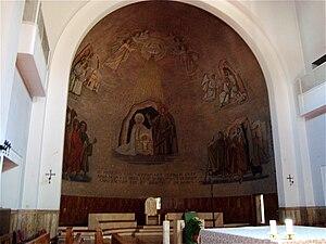 Intérieur de l'Église Natività di Nostro Signo...