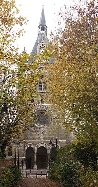 L 39 glise saint nicolas maisons laffitte yvelines for Maison de la bibliotheque